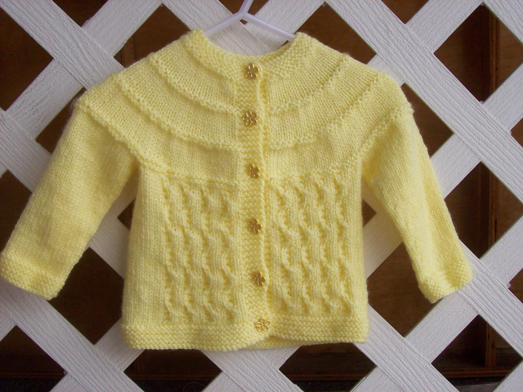 Best Easy Knitting Patterns For Baby Sweaters Image Collection