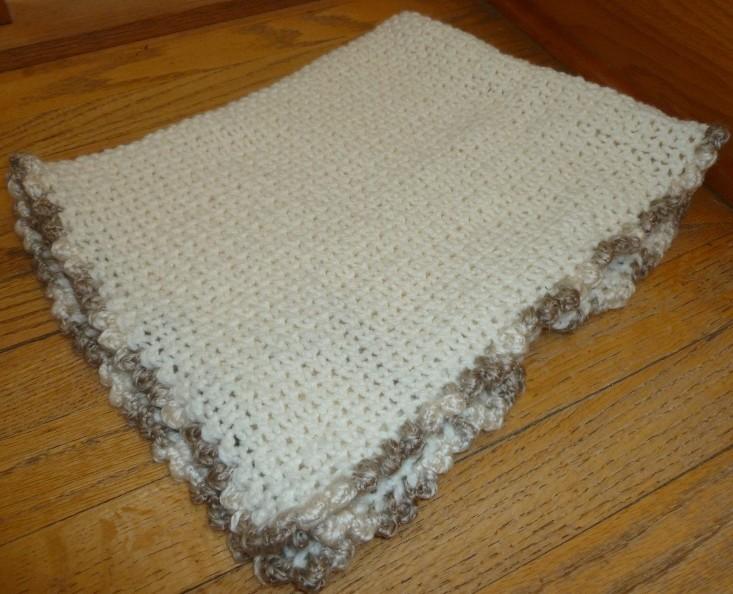Baby Blanket Loom Knitting Pattern