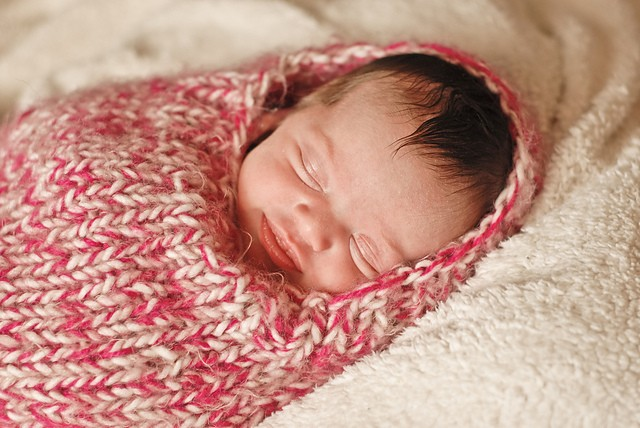 Baby Cocoon Knitted Pattern