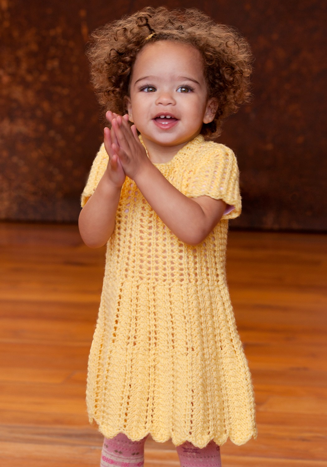 Baby Knit Sweater Dress Pattern