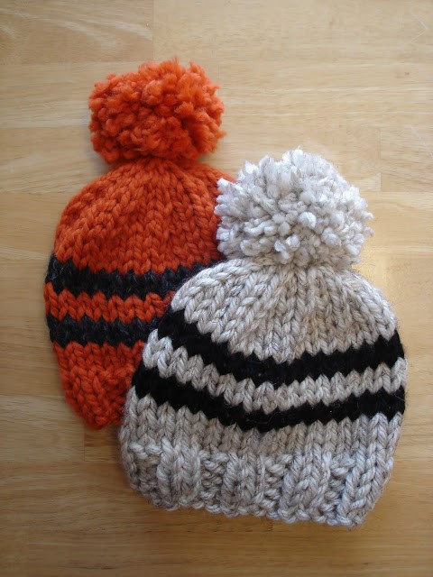 Baby Rugby Hat Knitting Pattern