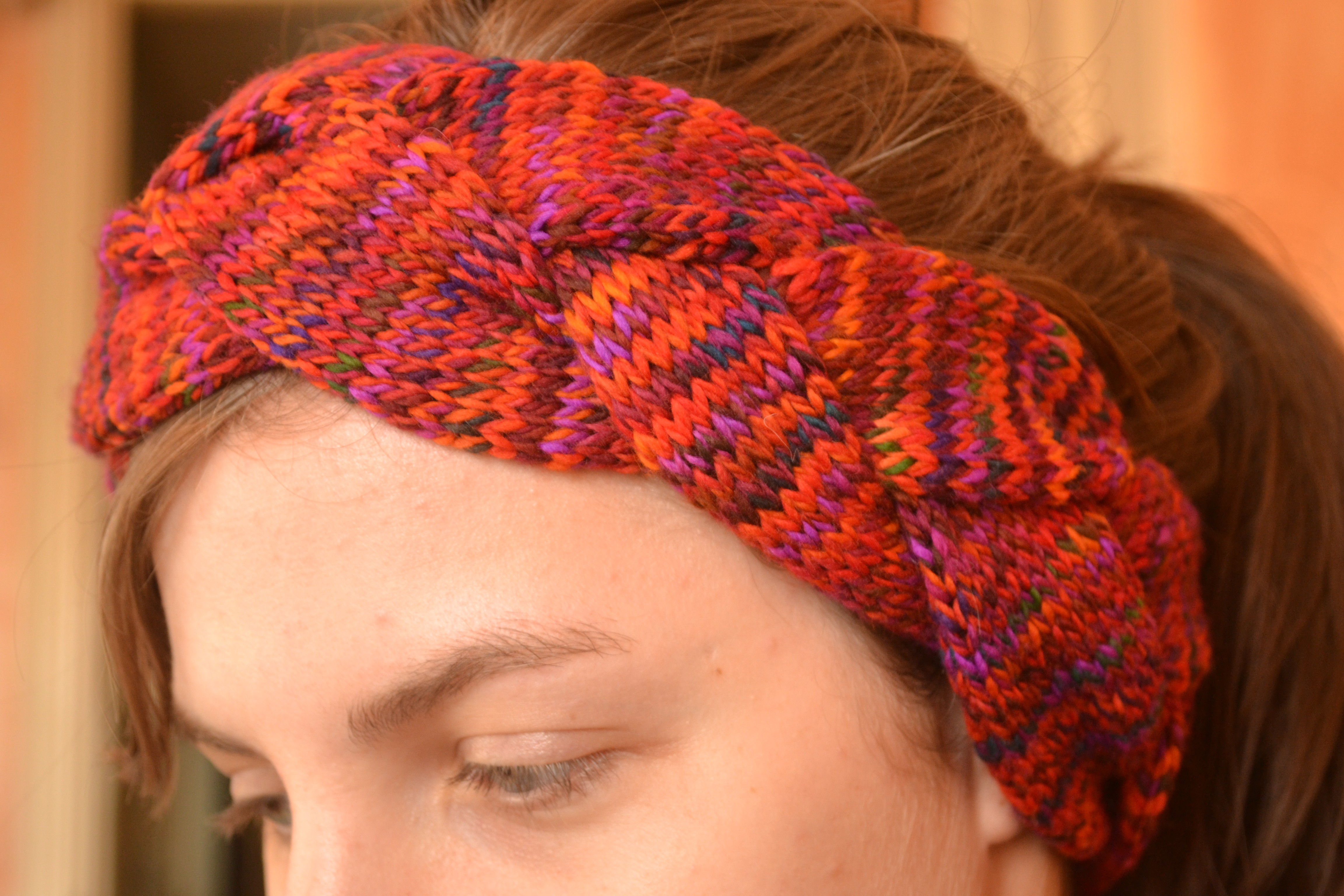 Braided Headband Knitting Pattern