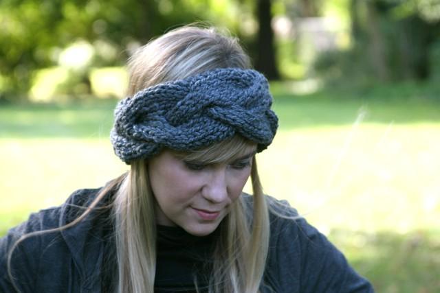 Braided Knitting Headband Pattern Instruction