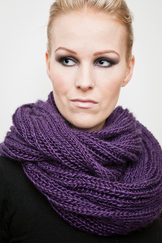 Brioche Infinity Scarf Pictures