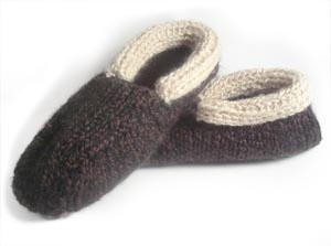 Cabin Slippers For Men Loom Knitting Tutorial