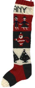 Christmas Knitted Stocking Pattern