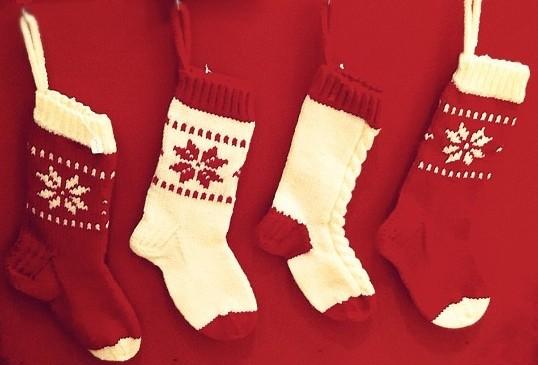Christmas Knitting Stocking Pattern Instruction