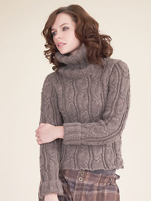 Chunky Cable Knit Sweater Pattern