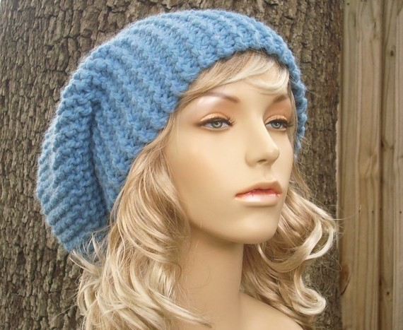 Chunky Hat Knitting Pattern Tutorial