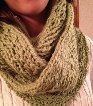 Chunky Loom Knit Scarf Pattern