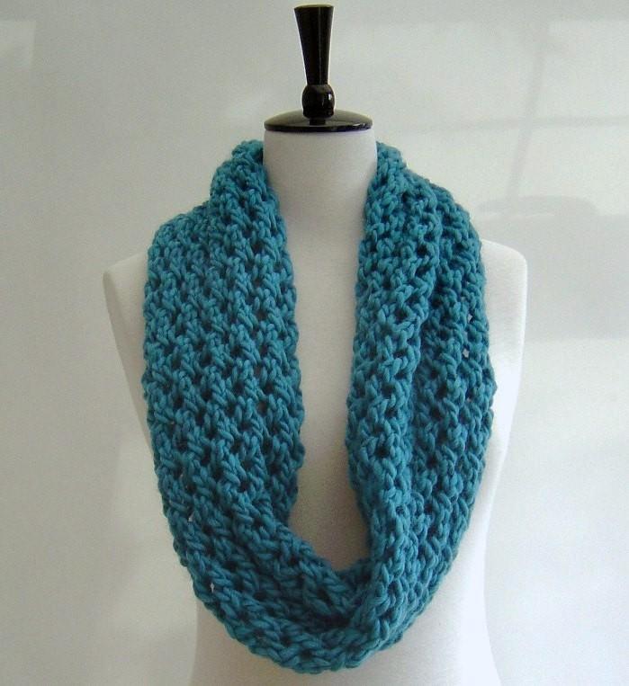 Chunky Scarf Knitting Pattern For Beginner