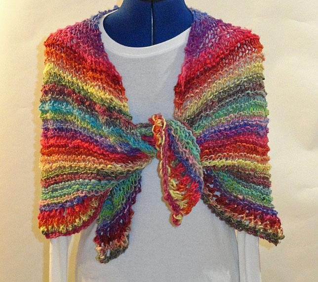 Circle of Love Prayer Shawl Knitting Pattern