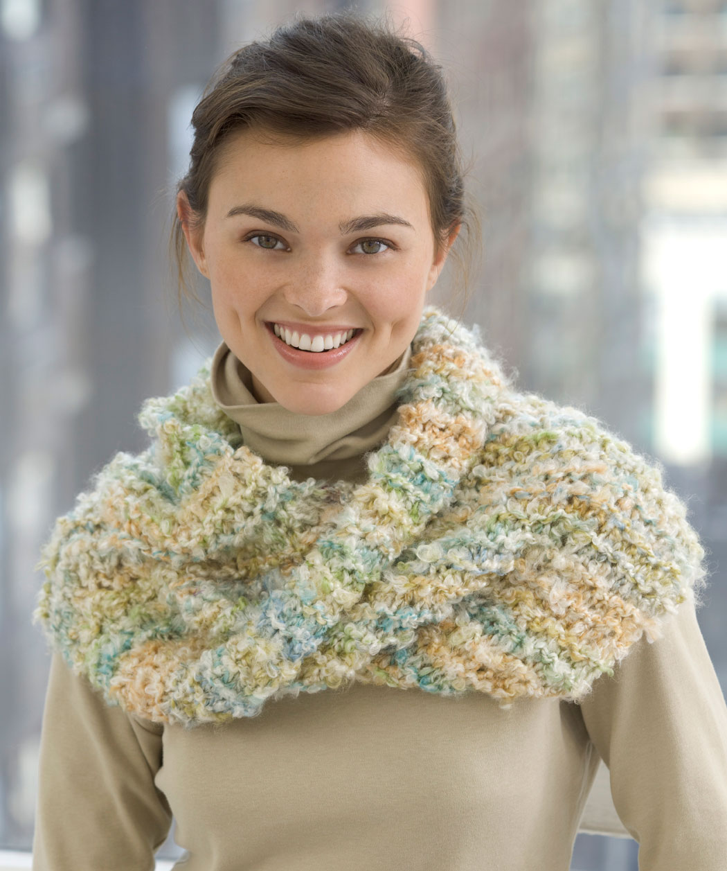 Cowl Knit Mobius Scarf Pattern
