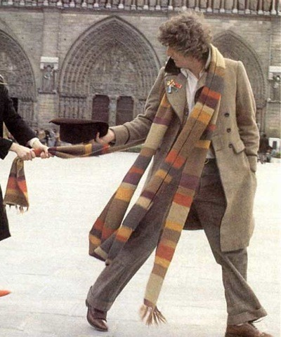 Doctor Who Scarf Knitting Pattern Instruction
