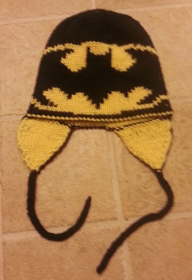 Double Knitting Batman Hat Pattern Images