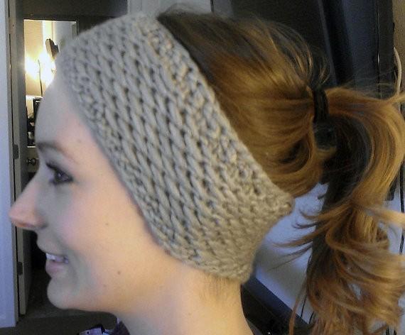 Ear Warmer Headband Knit Pattern