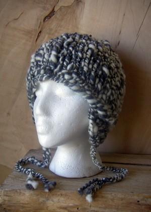 Earflap Hat Knitting Pattern Instruction