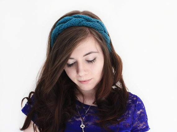 Easy Braided Headband Knitting Pattern