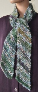 Diagonal Knit Scarf Pattern Images