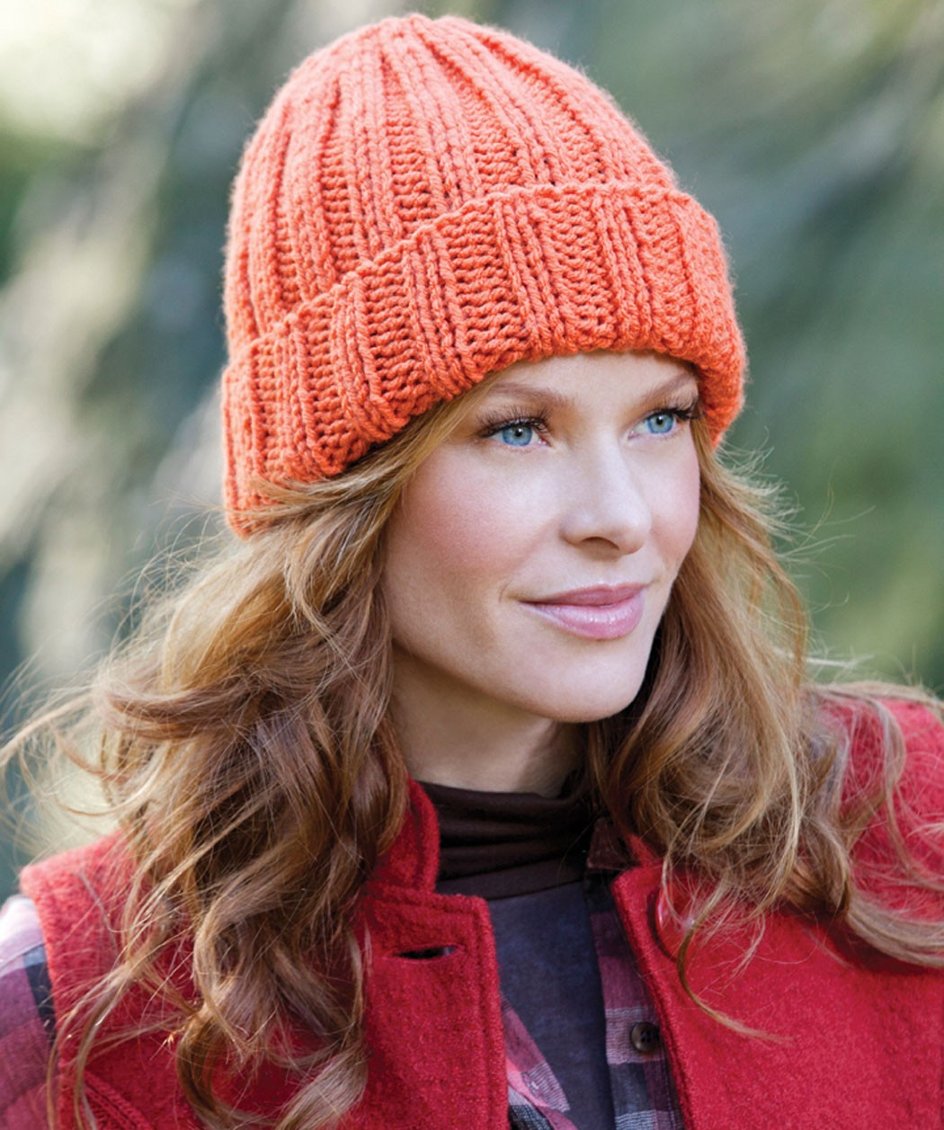 Easy Fit Ribbed Hat Knit Pattern For Free