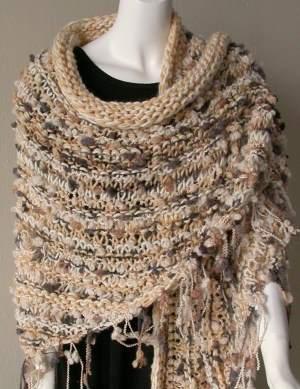 Easy Knit Shawl Pattern