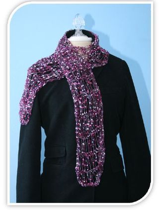 Easy Loom Knitting Scarf Pattern Images