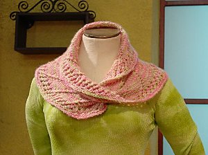 Pictures of Easy Mobius Scarf Knitting Pattern Instruction