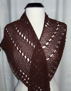 Easy Shawl Knitting Pattern