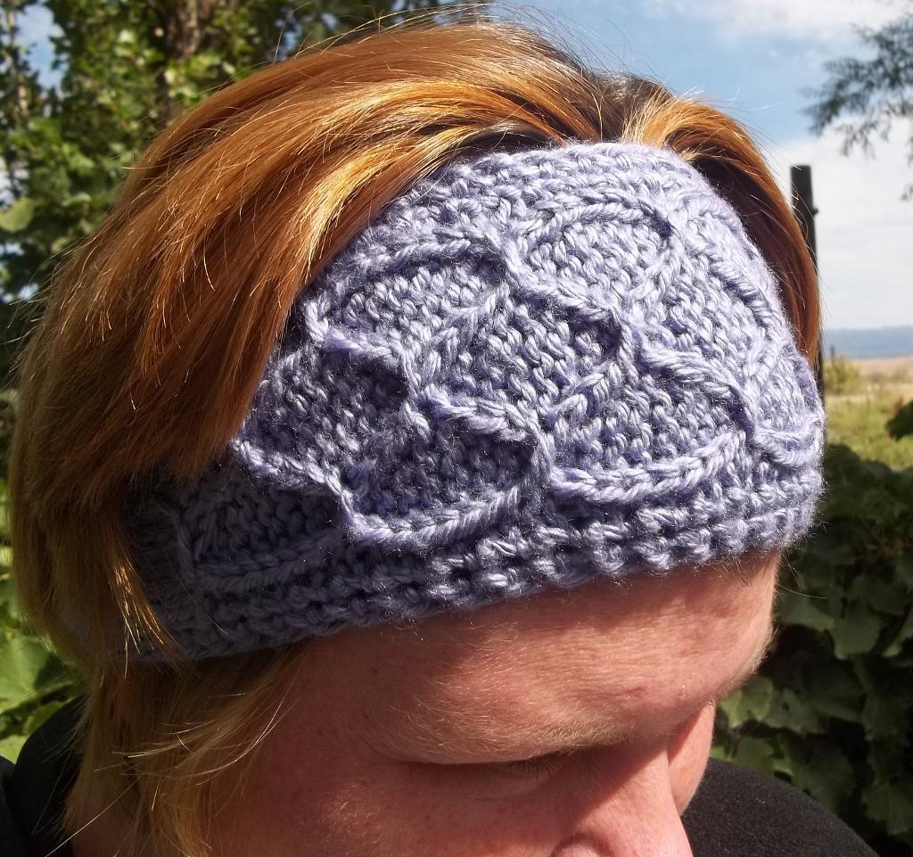 Easy Smocked Knit Ear Warmers Pattern