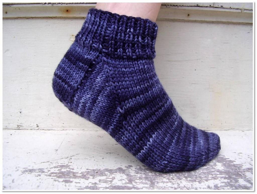 Easy Sock Knitting Pattern