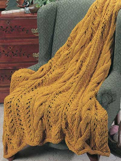 Elegant Afghan Knitting Pattern