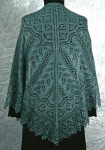 Image of Fern Glade Lace Knitting Pattern