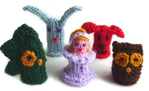 Finger Knitting Puppet Pattern