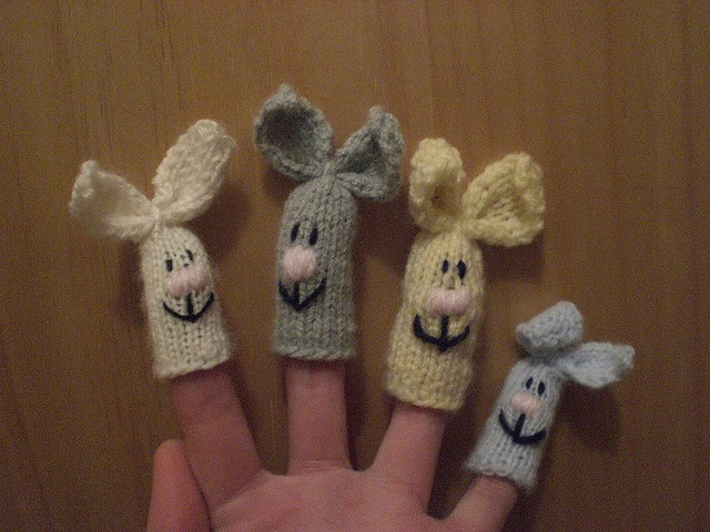 Finger Puppets Knitting Pattern