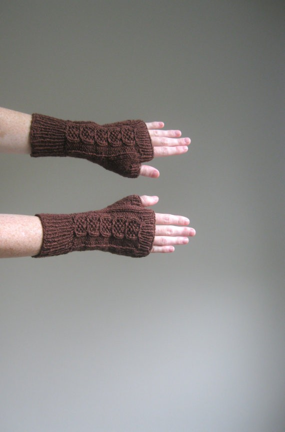 Fingerless Mitten Knitting Pattern