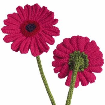 Flower Knitting Pattern Tutorial