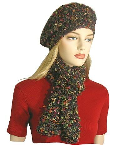 Free Beret Hat Knitting Pattern
