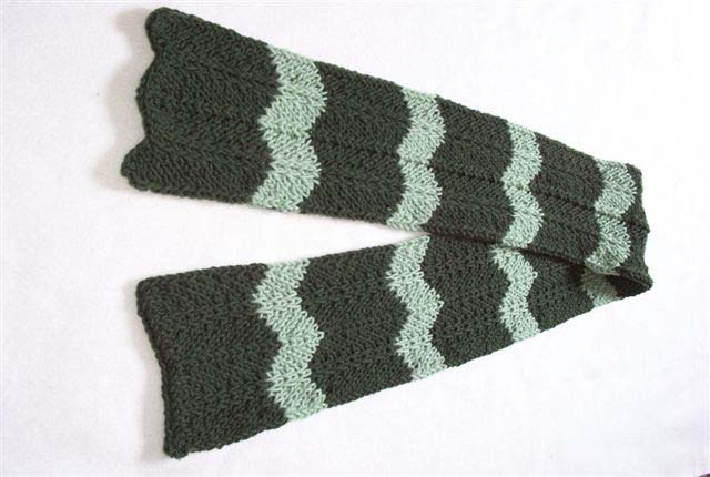Free Chevron Scarf Knitting Pattern Photos