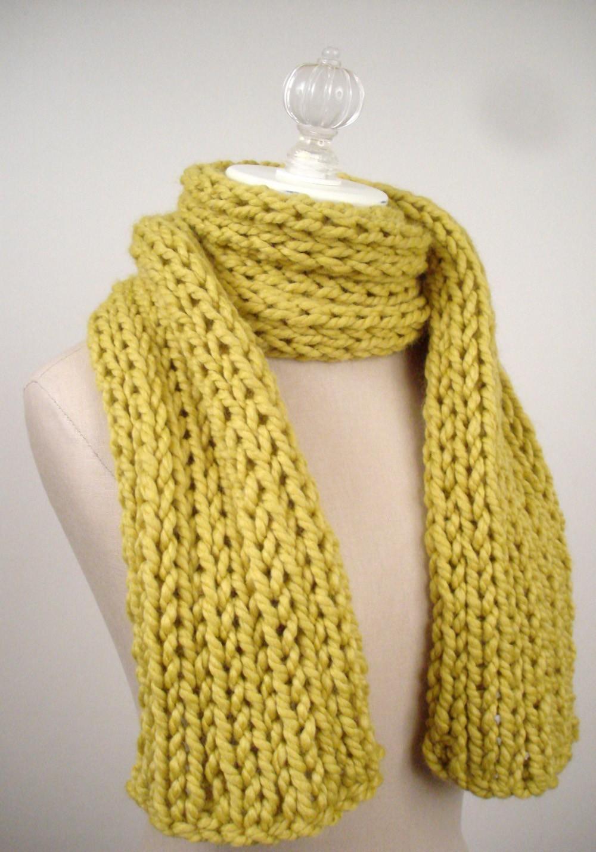 Free Easy Scarf Knitting Pattern