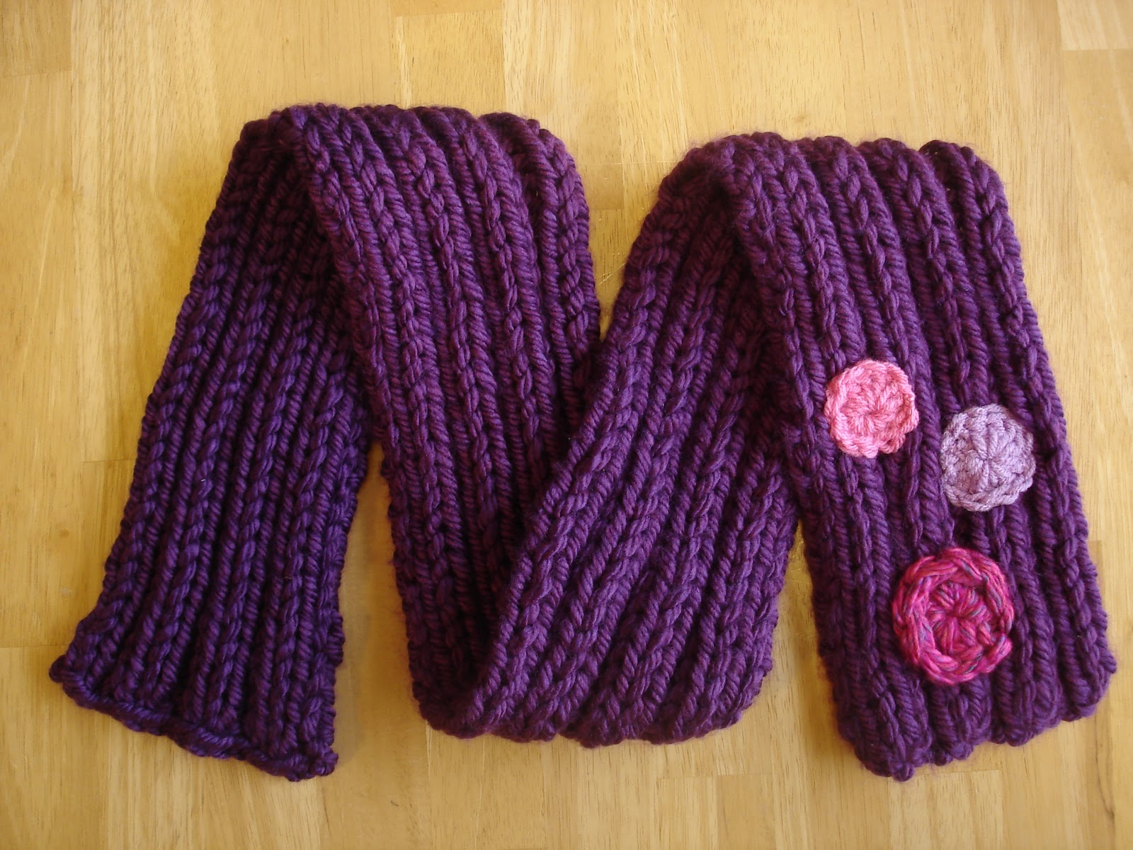 Free Knitting Pattern Her Royal Highness Scarf