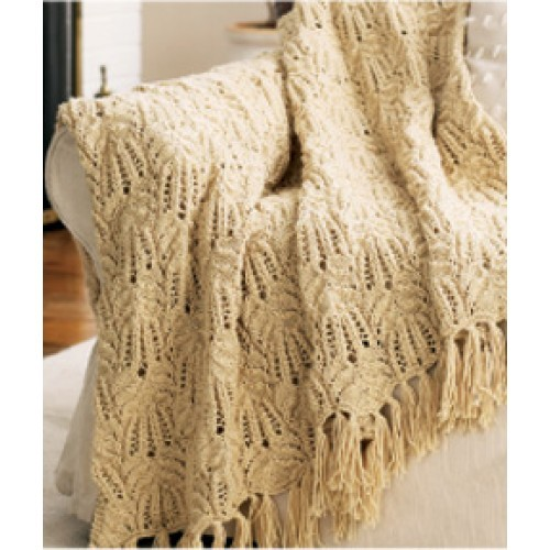 Free Lacy Afghan Knitting Pattern