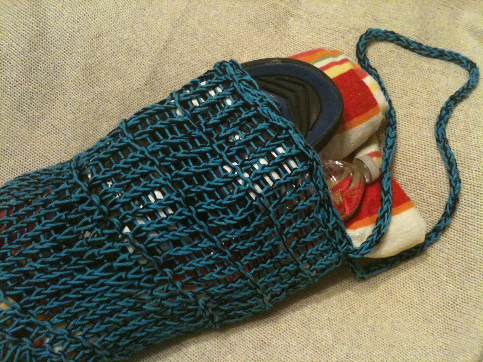 Free Loom Knit Mesh Bag