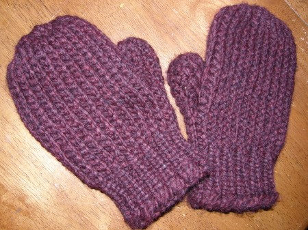 Free Loom Knitting Mittens Patterns