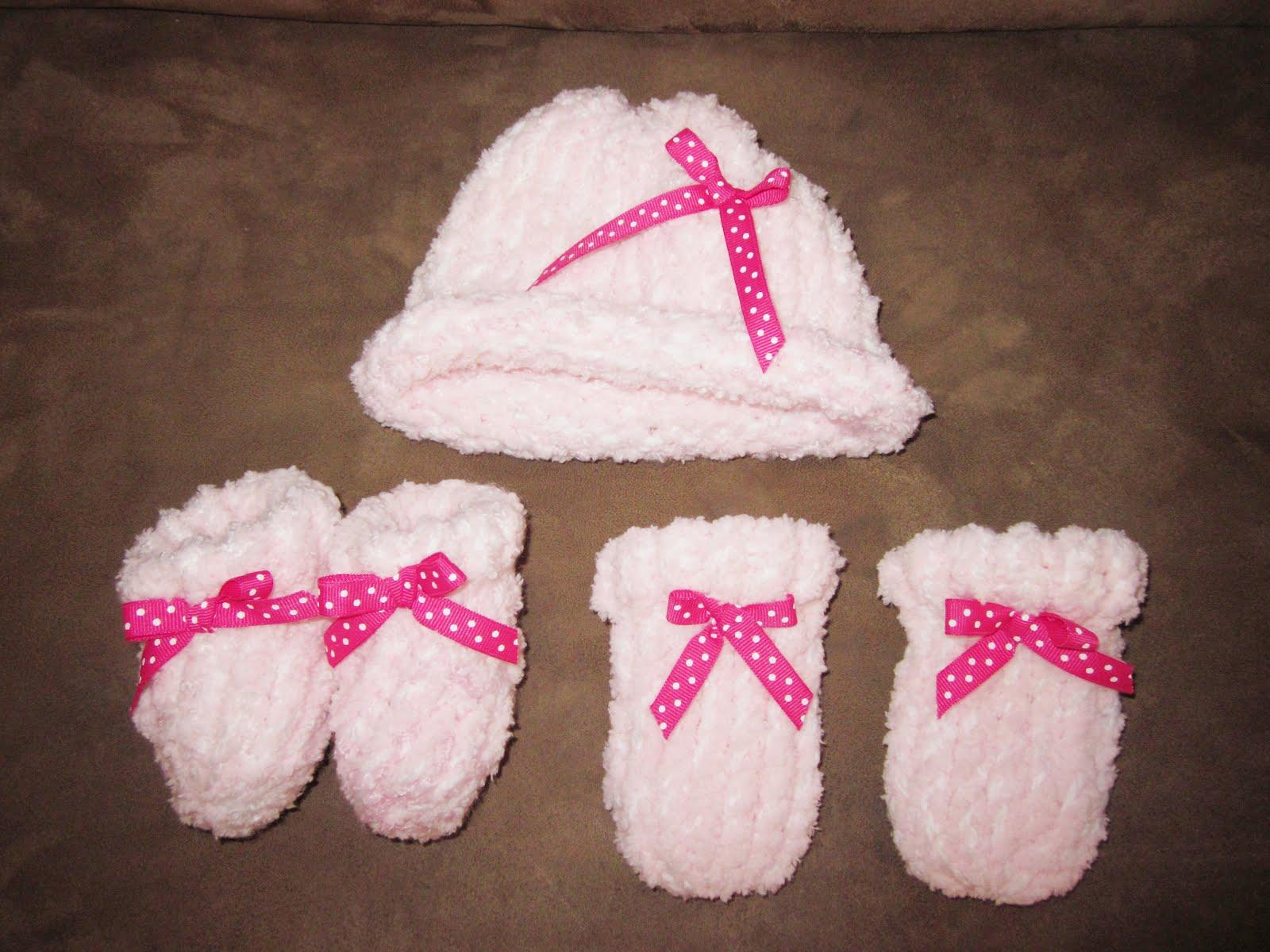 Free Loom Knitting Pattern For Newborns