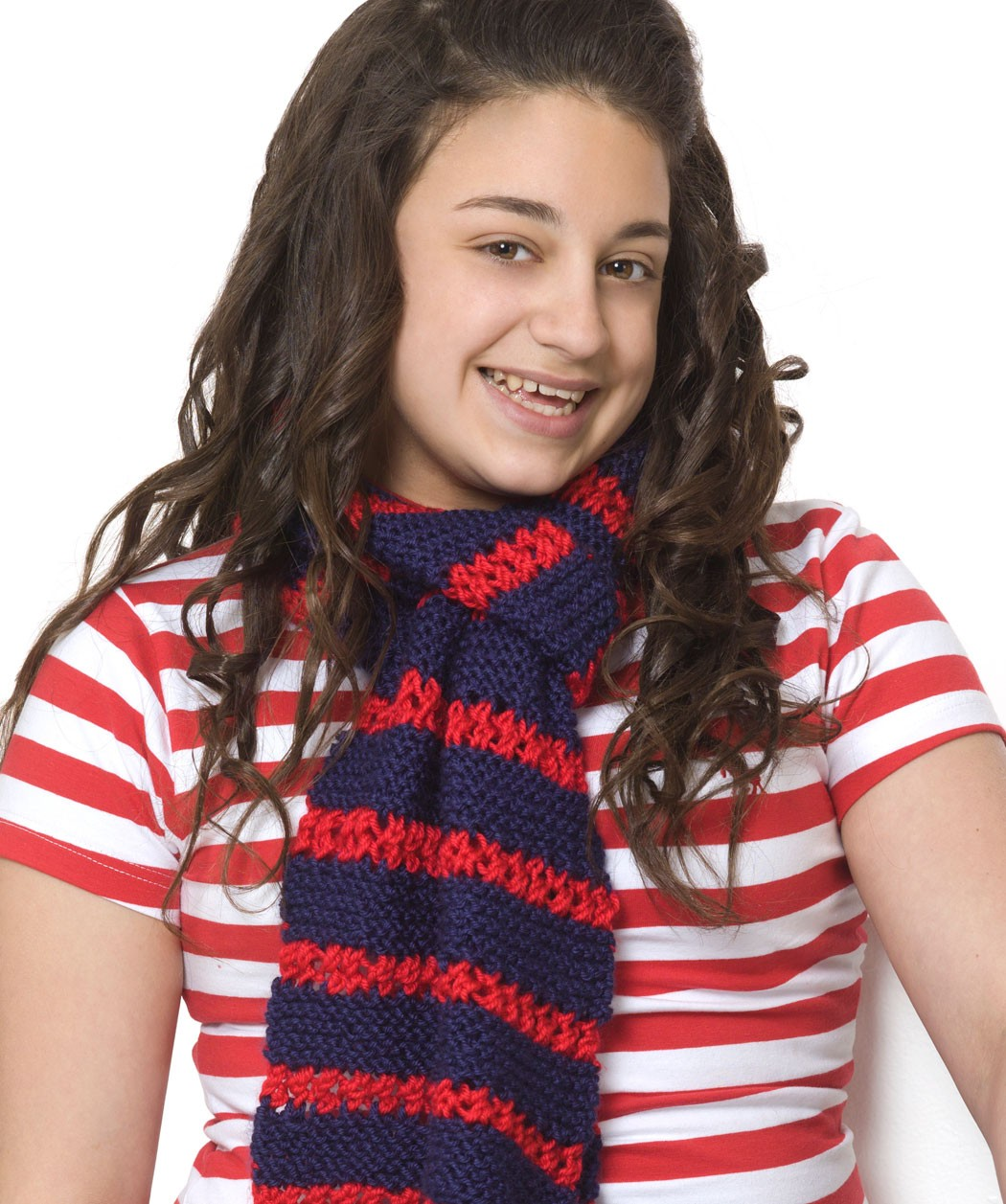 Free Striped Scarf Knitting Pattern