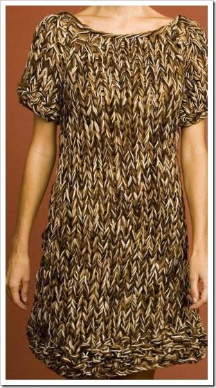 Free Sweater Dress Knitting Pattern