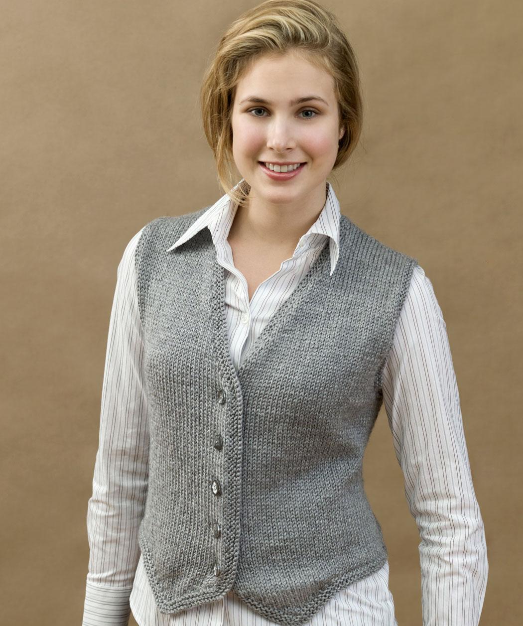 Free Sweater Vest Knitting Pattern