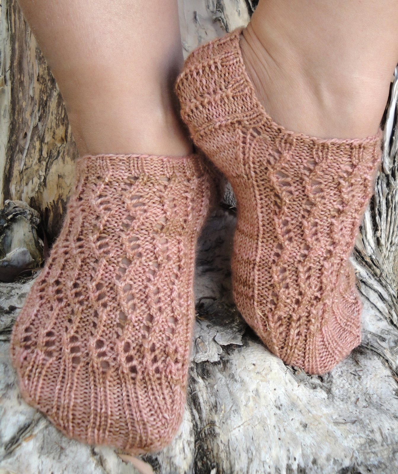 Harpa Socks Knitting Pattern