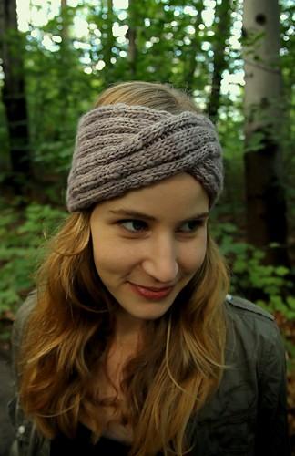 Headband Turban Knitting Pattern