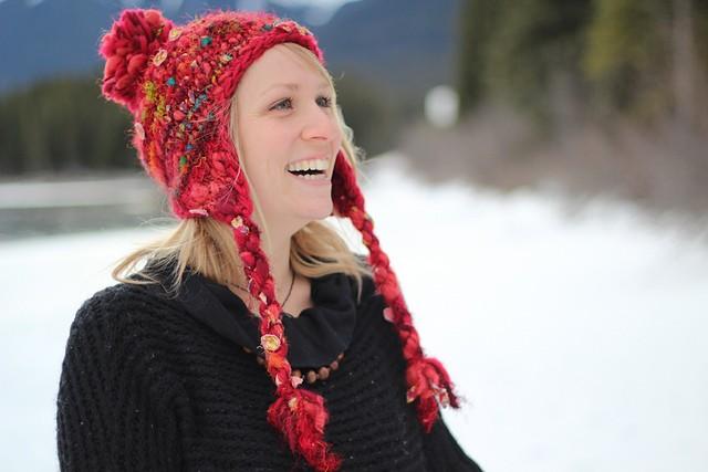 Hodgepodge Earflap Hat Knitting Pattern